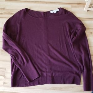 Burgundy Loft Sweater, Women's M